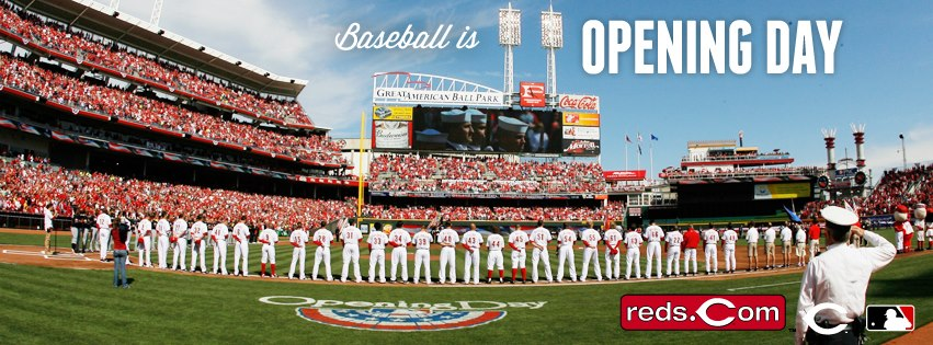 Image result for opening day cincinnati