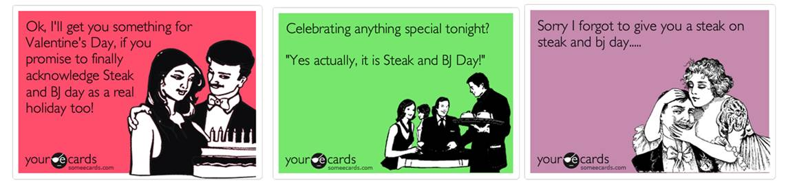 National steak and blowjob day