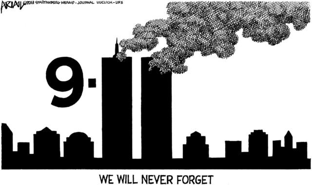 Image result for 9/11 CARTOON