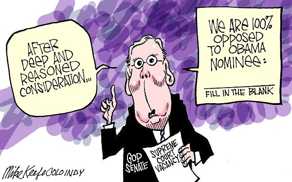 McConnell vs. Obama Nominee