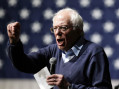 Democratic presidential candidate, Sen. Bernie Sanders, I-Vt., speaks during a concert hosted by his campaign, Friday, Oct. 23, 2015, in Davenport, Iowa. (AP Photo/Charlie Neibergall)