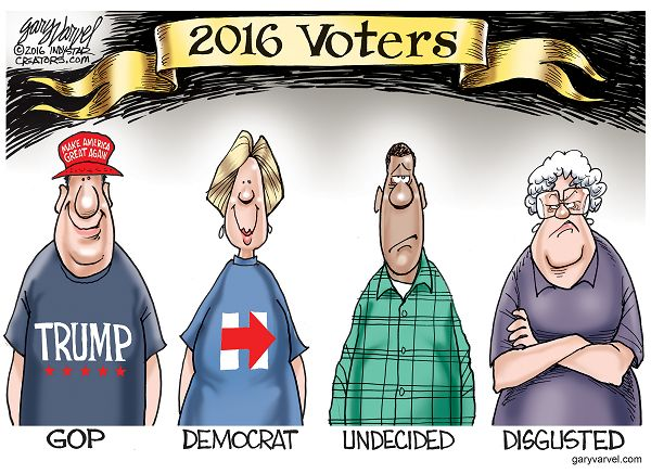 There appears to be a new category of voter in 2016.