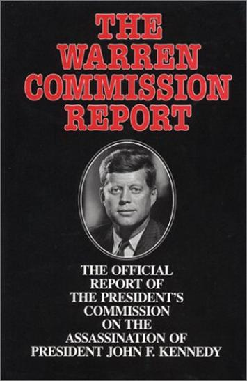 an introduction to the history of warren commission and their decision that john f kennedy was shot