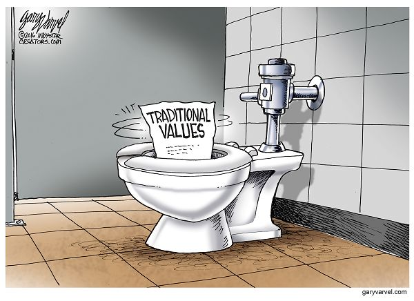 President Obama issued a transgender bathroom directive to public schools which has fundamentally transformed America's tradition.