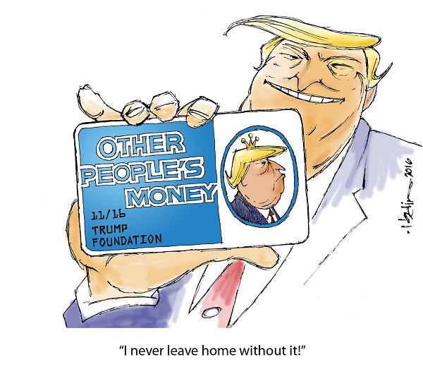 other people's money - donald trump