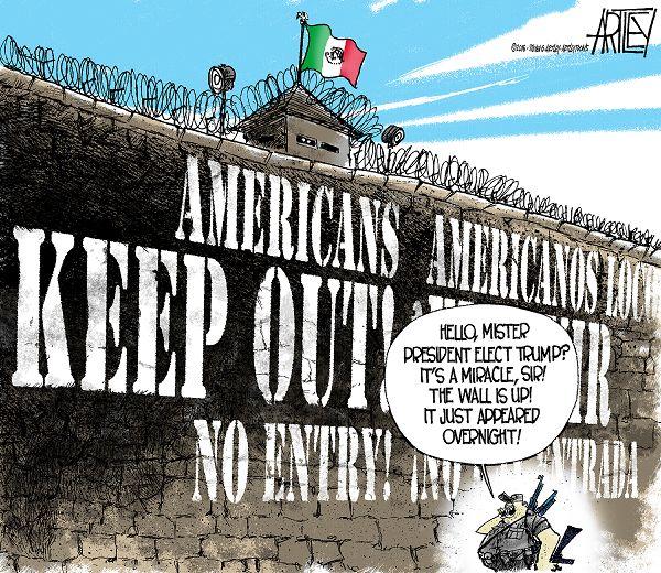 Walls of Montezuma
