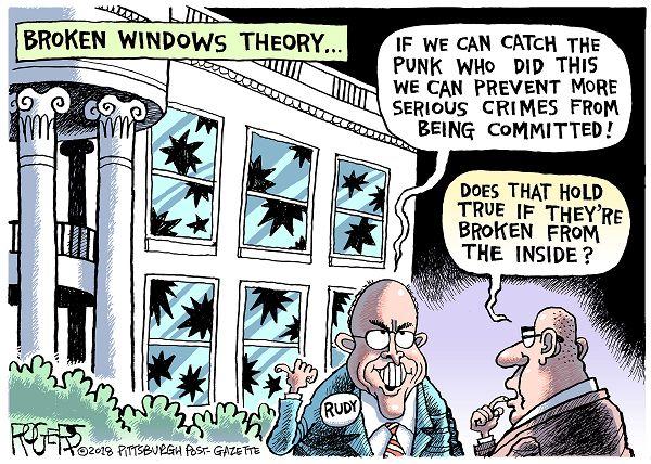 Broken Glass Theory